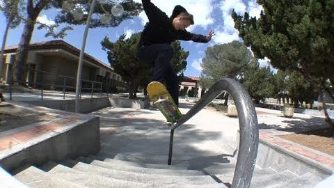 Mike Patterson Switch fs Krook Raw Cut | E. Clavel