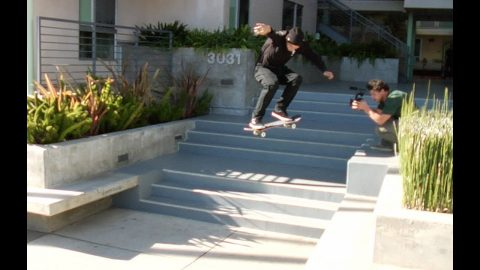 Mike Piwowar 360 Flip Triple Set Raw Cut | E. Clavel