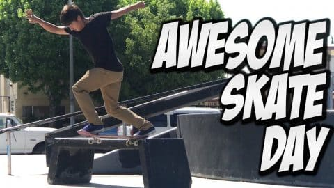 MIKE PIWOWAR & JOSE CUEVAS KILL IT ON A SKATEBOARD !!! - A DAY WITH NKA - Nka Vids Skateboarding