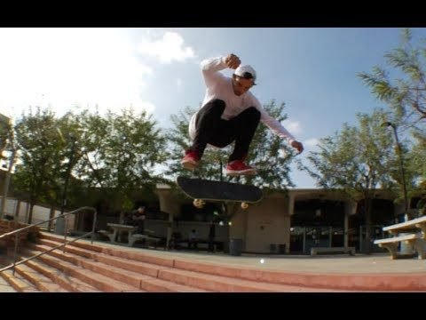 Mike Piwowar Kickflip to Inward Heel Raw Cut - E. Clavel