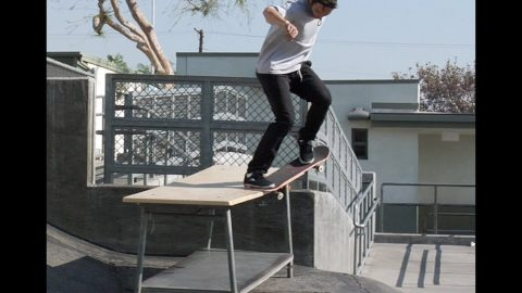 Mike Piwowar Krook Nollie Flip Raw Cut | E. Clavel