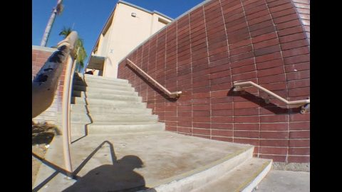 Mike Piwowar Switch fs Flip 9 Flat 2 Raw Cut | E. Clavel