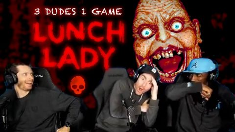 """MikeMo Ran Out Of The Room!! Scariest Game We've Played! """"Lunch Lady""""   Nine Club Highlights"""