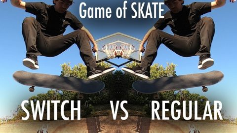 Mikemo VS Mikemo: Switch VS Regular game of SKATE | Mike Mo Capaldi