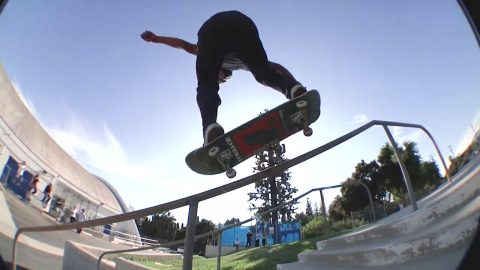 MIKEY HAYWOOD PRO PART   LE skateboards