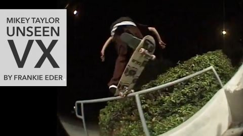 Mikey Taylor Unseen VX1000 Footage by Frankie Eder - Mikey Taylor