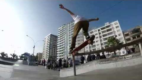 Milton Martinez, Angelo Caro & Madars Apse during a Red Bull demo in Lima, Peru! | Madars Apse