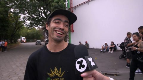 Milton Martinez fala sobre o Flip no Sunset Car Wash | CemporcentoSKATE