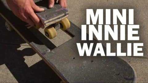 Mini Innie Wallie: Abe Dubin || ShortSided - Brett Novak