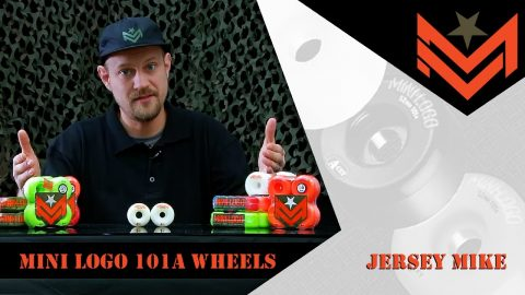 Mini Logo 411 - 101A Wheels with Jersey Mike | Mini Logo Skateboards