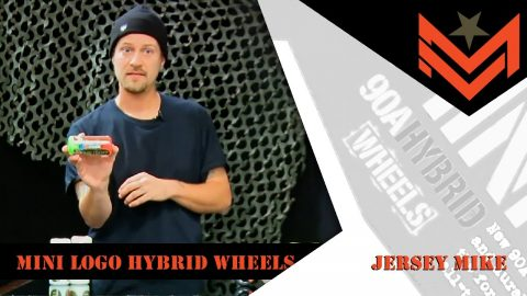 Mini Logo 411 - 90A Hybrid Formula with Jersey Mike | Mini Logo Skateboards