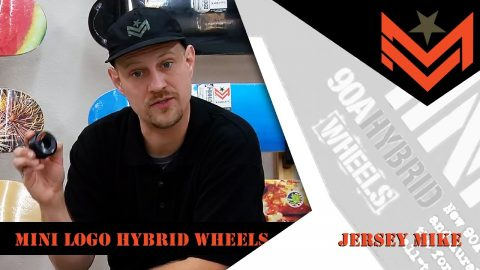 Mini Logo 411 - Hybrid Wheels with Jersey Mike | Mini Logo Skateboards