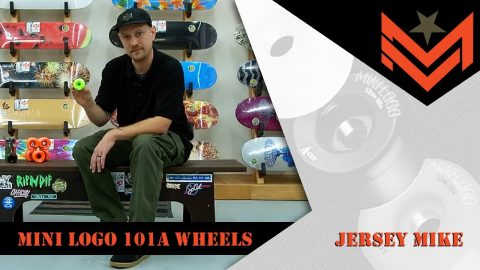 Mini Logo 411 - Tried and True 101A Wheels with Jersey Mike | Mini Logo Skateboards