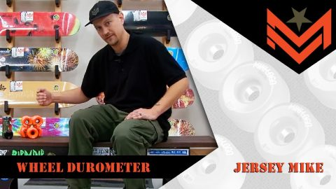 Mini Logo 411 - Wheel Durometer with Jersey Mike | Mini Logo Skateboards