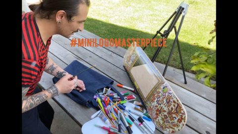 Mini Logo Masterpiece with Official MILITANT #1 - Mikey Weber - It's Time! | Mini Logo Skateboards