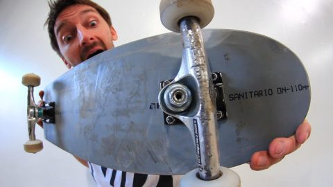 MINI SKATEBOARD MADE OF MELTED PVC | YOU MAKE IT WE SKATE IT EP 81 - Braille Skateboarding