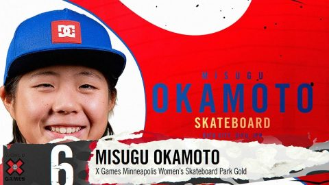 MISUGO OKAMOTO: #6 | X Games 2019 Top 10 Moments | X Games