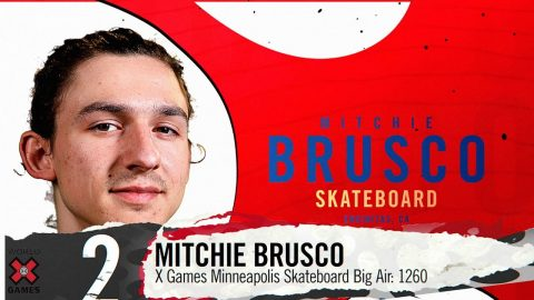 MITCHIE BRUSCO: #2 | X Games 2019 Top 10 Moments | X Games