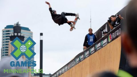 Mitchie Brusco wins Skateboard Vert bronze | X Games Minneapolis 2017 - X Games