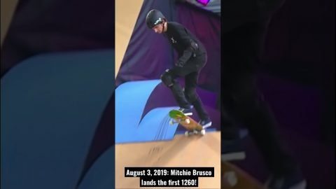 Mitchie Brusco's First 1260 Turns Two!   BEST OF X GAMES   X Games