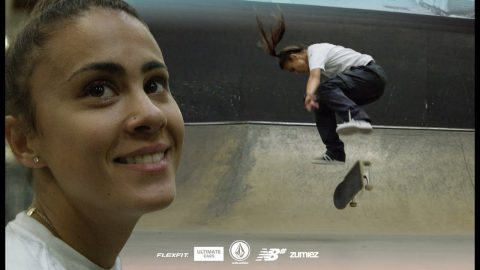 Monica Torres In Super Slow-Mo | WBATB | The Berrics