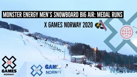 Monster Energy Men's Snowboard Big Air: MEDAL RUNS | X Games Norway 2020 | X Games
