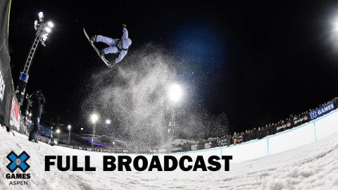 Monster Energy Men's Snowboard SuperPipe: FULL BROADCAST | X Games Aspen 2020 | X Games
