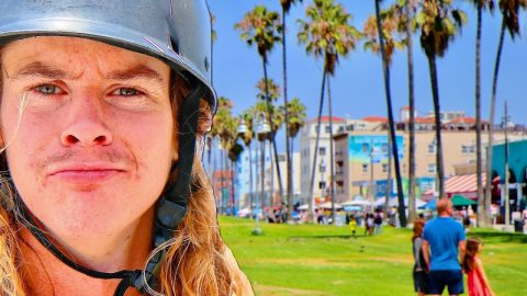 MOST CREATIVE SKATEBOARDER VERSUS VENICE BOARDWALK! | Braille Skateboarding