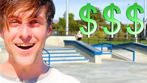 MOST EXPENSIVE SKATE PARK IN THE BAY AREA! | Braille Skateboarding