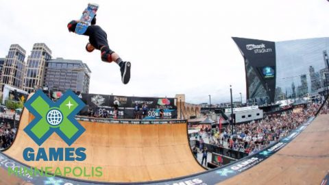 Moto Shibata wins Skateboard Vert gold | X Games Minneapolis 2017 - X Games