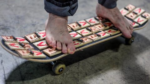 Mouse Trap Grip Tape! | Braille Skateboarding