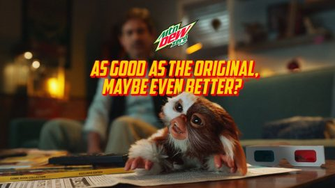 MTN DEW ZERO SUGAR GREMLINS   RULE #4   MUST BE REFRESHING AFTER MIDNIGHT   Mountain Dew