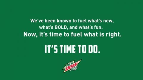 MTN Dew Zero Sugar Supports Real Change | Mountain Dew
