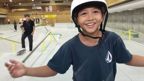 MURAKAMI SKATEPARK TERBAIK DI JAPAN PART#2 SEASON #6 | Pevi Permana