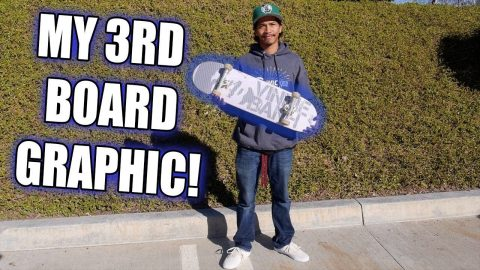 MY 3RD BOARD GRAPHIC!!! | Vinh Banh