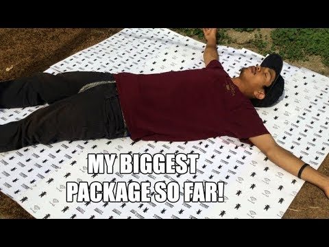 MY BIGGEST PACKAGE SO FAR! - Vinh Banh