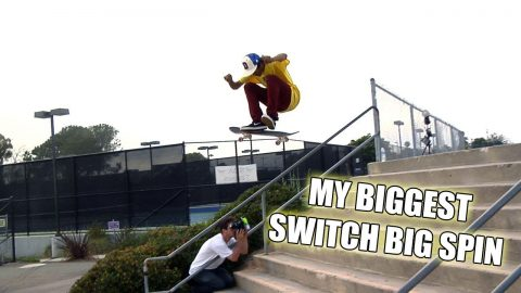 MY BIGGEST SWITCH BIG SPIN!!! - Vinh Banh