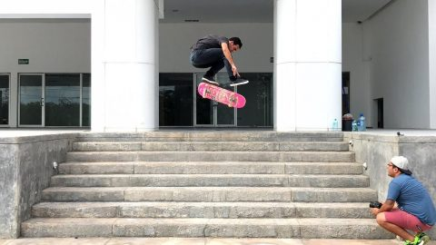 My City - Merida, Yucatan, Mexico - Michael Scott | Volcom Skate - Volcom