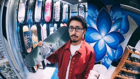 MY FAVORITE SKATESHOP | Luis Mora