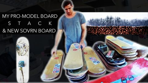 My Pro-Model Board Stack & New SOVRN Board - Mikey Taylor