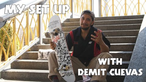 My Set Up with Demit Cuevas | Preduce Skateboards | Preduce Skateboards