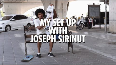 My set up with Joseph Sirinut | Preduce Skateboards | Preduce Skateboards