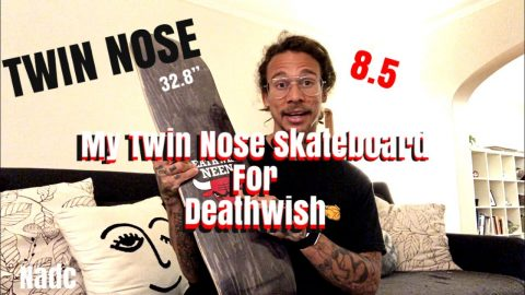 My Twin Nose Skateboard for DW | Neen Williams