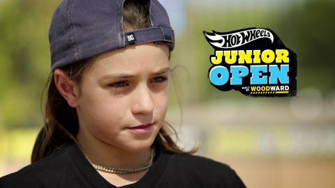 Myles Strampello Profile - Hot Wheels Junior Open at Woodward West - Woodward Camp