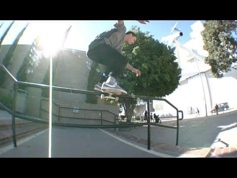 Nate Greenwood Boardslide Fakie, Switch bs 180 Hydrant Raw Uncut - E. Clavel