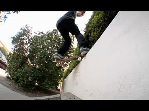 Nate Greenwood fs Pivot Fakie Bank To Wall Raw Uncut - E. Clavel