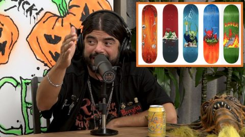 NeckFace Talks About His New Series for Baker Skateboards | The Nine Club Highlights