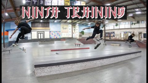 Neen Williams & Erick Valdez - Ninja Training | The Berrics