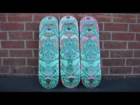 Neen Williams - The Kreator - Deathwish Skateboards