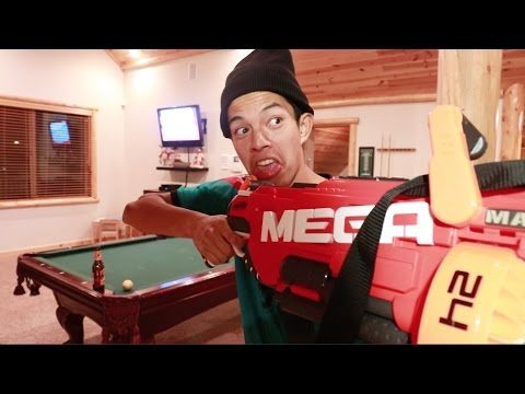 NERF ATTACK MY BROTHER - Chris Chann